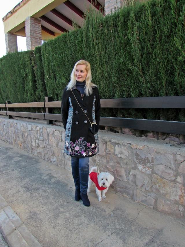 Paseando con Abrigo Isabel Morgado