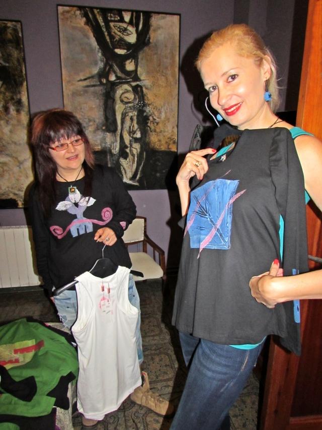 Arte y Moda de la pintora Lola Arcas