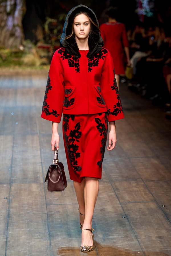 Dolce & Gabbana – Fall winter in Red