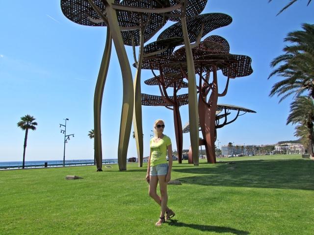 Paseo en la Playa la Pineda