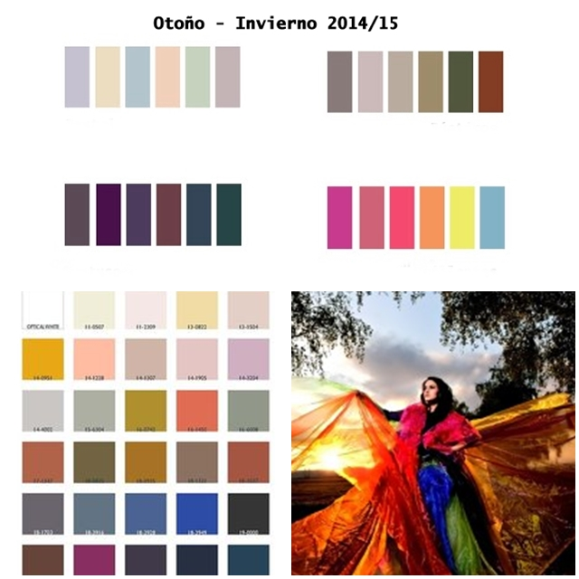 Colores otoño-Invierno